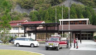 下北山スポーツ公園・宿出発