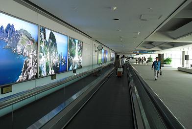 仁川国際空港内
