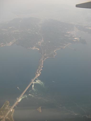 飛行・鳴門大橋
