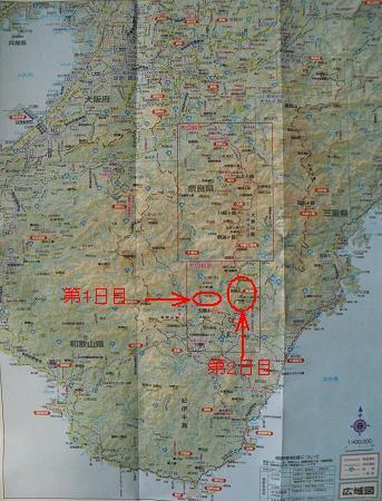 場所の説明地図