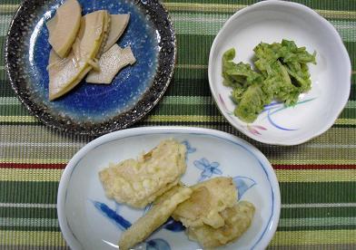 竹の子・料理