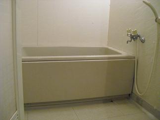 浴室の掃除 1
