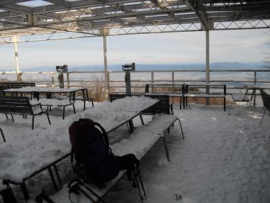 4 白樺食堂のテラス