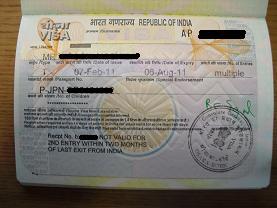 3 インド観光ビザ