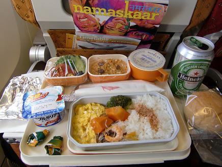 5 機内食・ノンベジ(昼食)