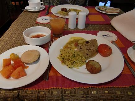 1 ホテルの朝食