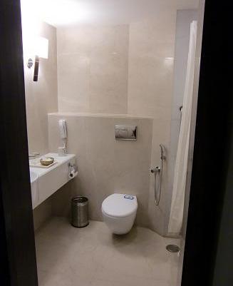 23 アグラの宿泊ホテル・バストイレ