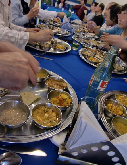 3 昼食・ターリー料理