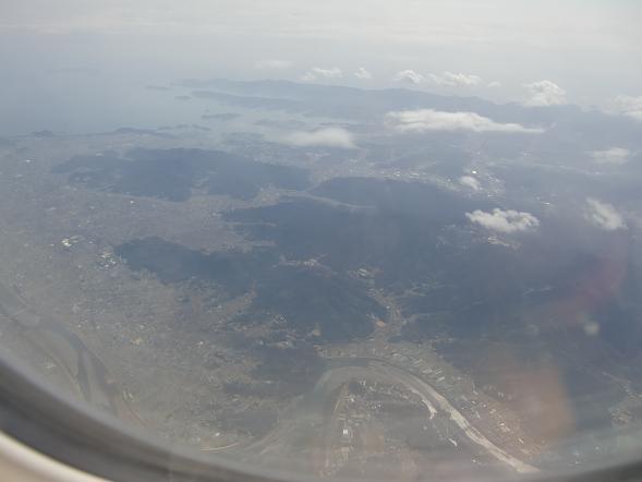 10 徳島上空