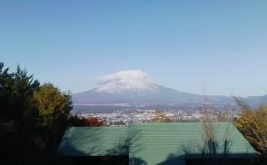 わたぼうしの富士山