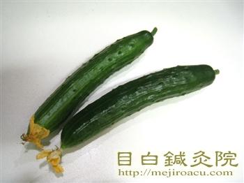 2011年緑のカーテン初収穫3