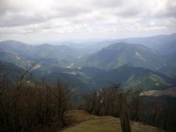 高見山から高見峠へ