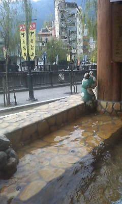 雅の足湯②