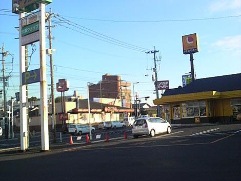 仏跳麺駐車場