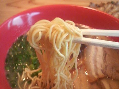 赤とんとんの麺