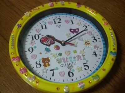 デコ時計作り05
