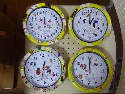 デコ時計作り03