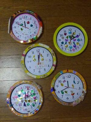 デコ時計作り04