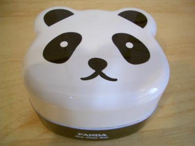 パンダちゃんのお弁当箱