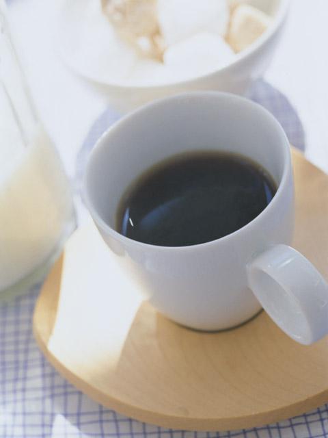 お砂糖入りは朝だけに。