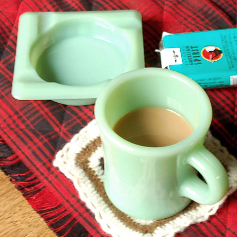 FIREKING HEAVY MUG & ASHTRAY