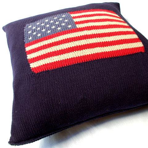Ralph Lauren COTTON KNIT PILLOW
