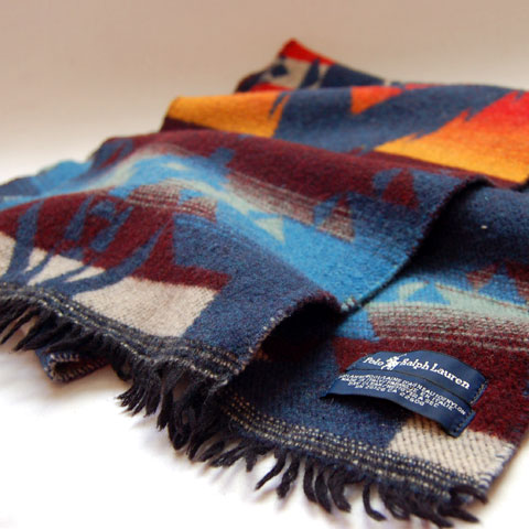 Polo Ralph Lauren NATIVE WOOL SCARF
