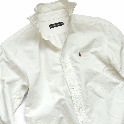 Polo Ralph Lauren OXFORD BD SHIRT WHT