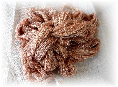 裂き織りマフラー2-1