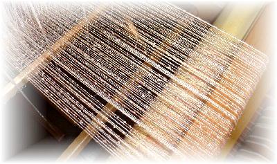 裂き織りマフラー2-2