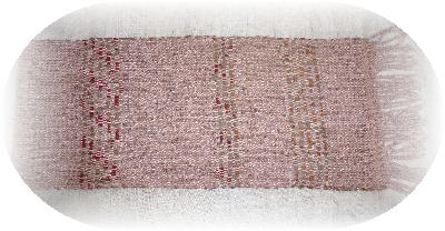 裂き織りマフラー9