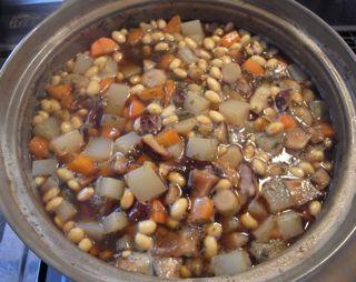 お豆の五目煮