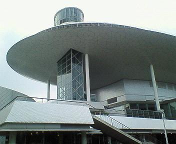 桐生市市民文化会館外観