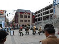 20110527 鹿児島中央駅での自衛隊吹奏楽