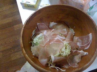 ガールズナイト サラダ