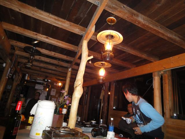2011年4月30日 ランプの灯り