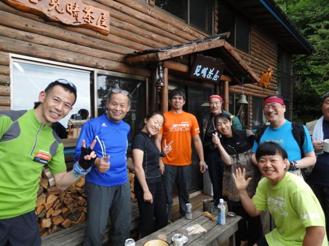 2011年5月22日 見晴茶屋ボッカ駅伝チームのトレーニング1