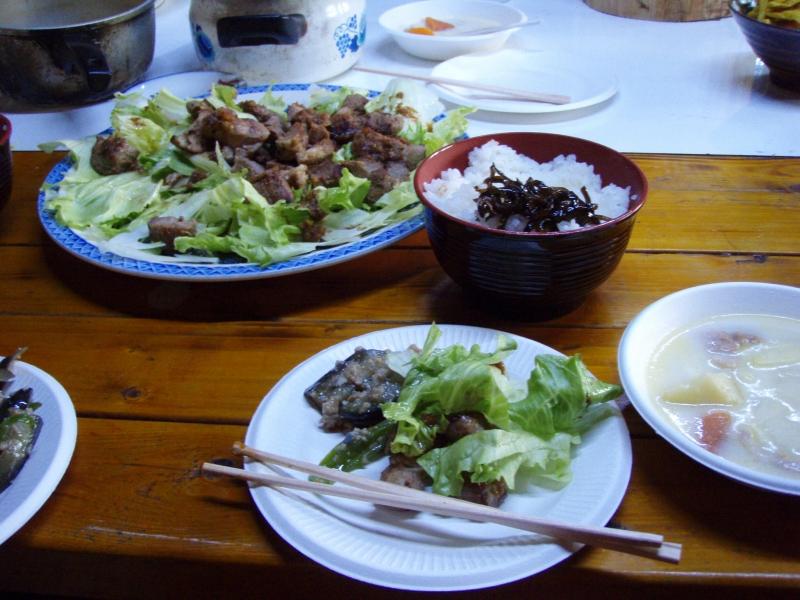 2011年6月4日の夕食