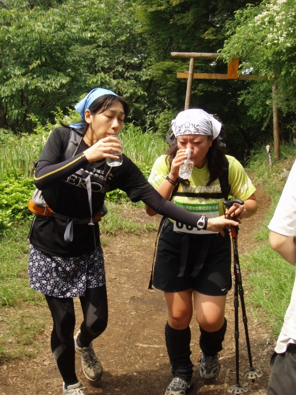第一区の村山さん給水