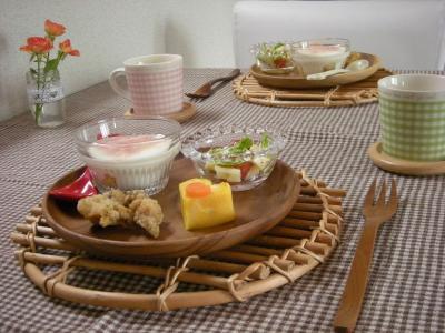 お弁当の残りで朝ごはん2_convert_20091130123539