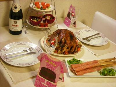 クリスマスのテーブル3_convert_20091226144206