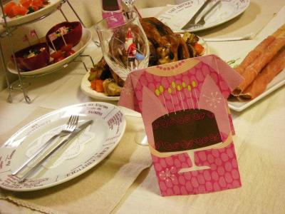 クリスマスのテーブル_convert_20091226144049