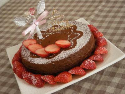 クリスマス☆チョコレートケーキ_convert_20091226145337