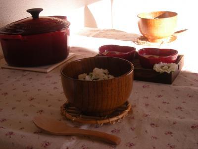 七草粥で朝ごはん3_convert_20100107130643