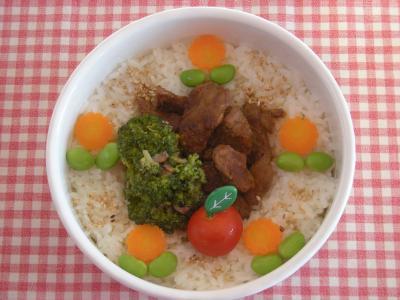 1月11日焼き肉弁当_convert_20100111165651