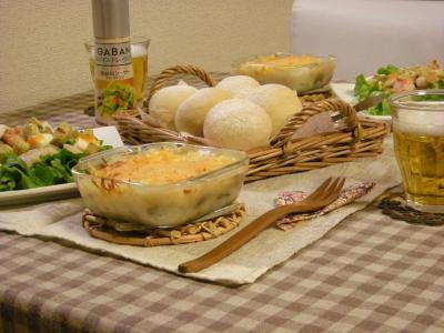 シーフードパスタサラダの食卓+(2)_convert_20100120133512
