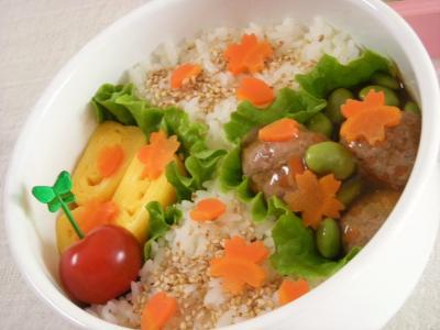 1月27日枝豆あんかけ肉だんご弁当3_convert_20100127145737