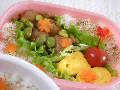 1月27日枝豆あんかけ肉だんご弁当2_convert_20100127145720