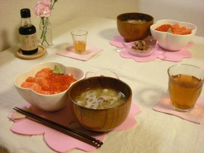 親子丼の食卓_convert_20100306144225