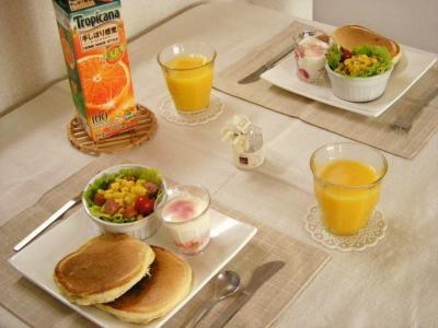 オレンジジュースで朝ごはん2_convert_20100323154526